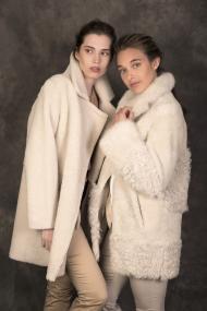 Silky Angora Lammy Coat