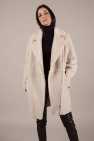 Silky Angora Lammy Coat Single